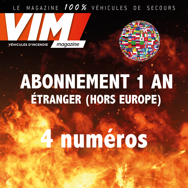 VIM - Abonnement - 1 AN - ETRANGER