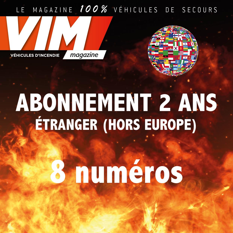 VIM - Abonnement - 2 ANS - ETRANGER