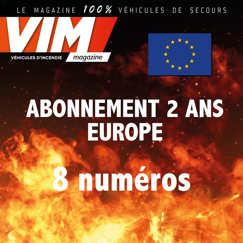 VIM - Abonnement - 2 ANS - EUROPE