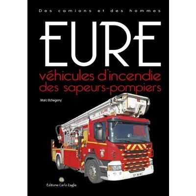 Véhicules d'incendie des sapeurs-pompiers de l'Eure