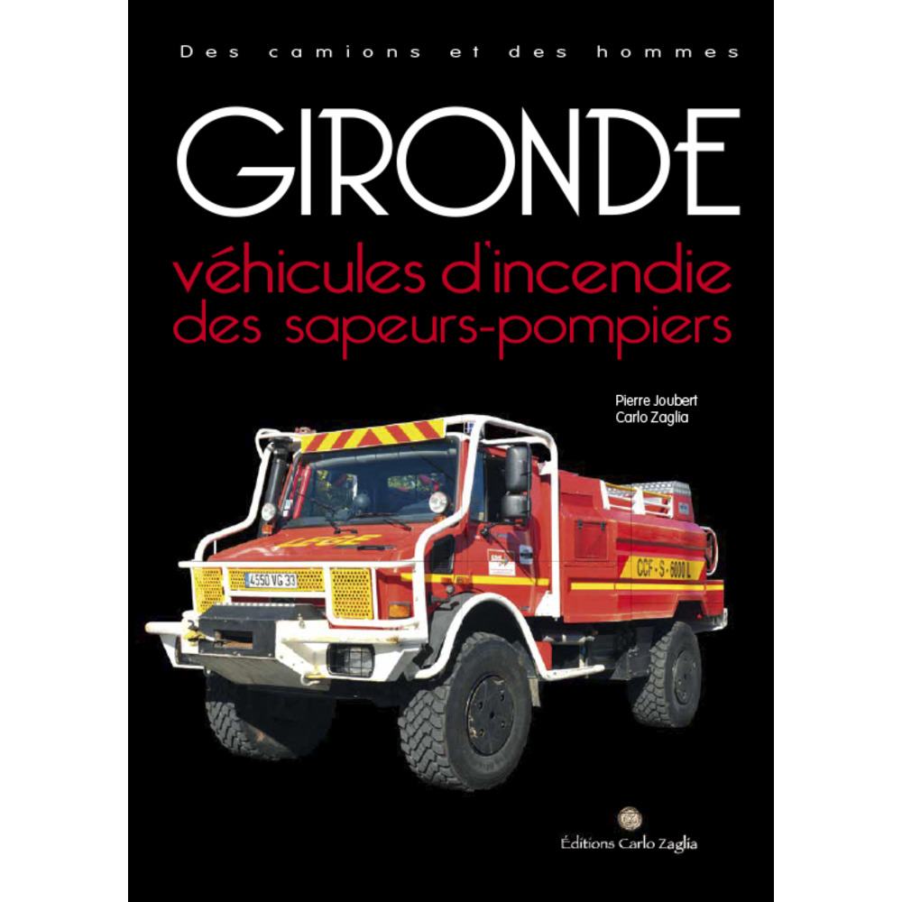 Véhicules d'incendie des sapeurs-pompiers de la Gironde