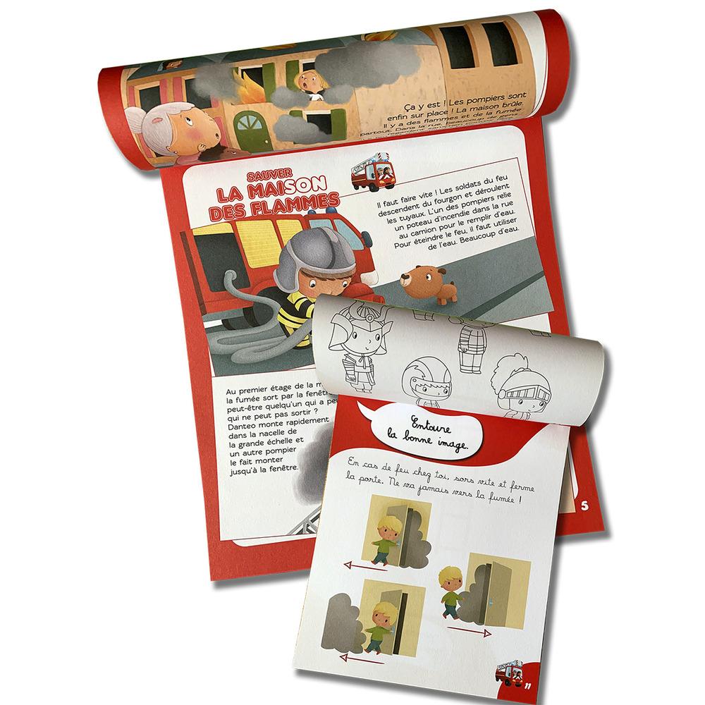 Mon livre d'activités de pompiers