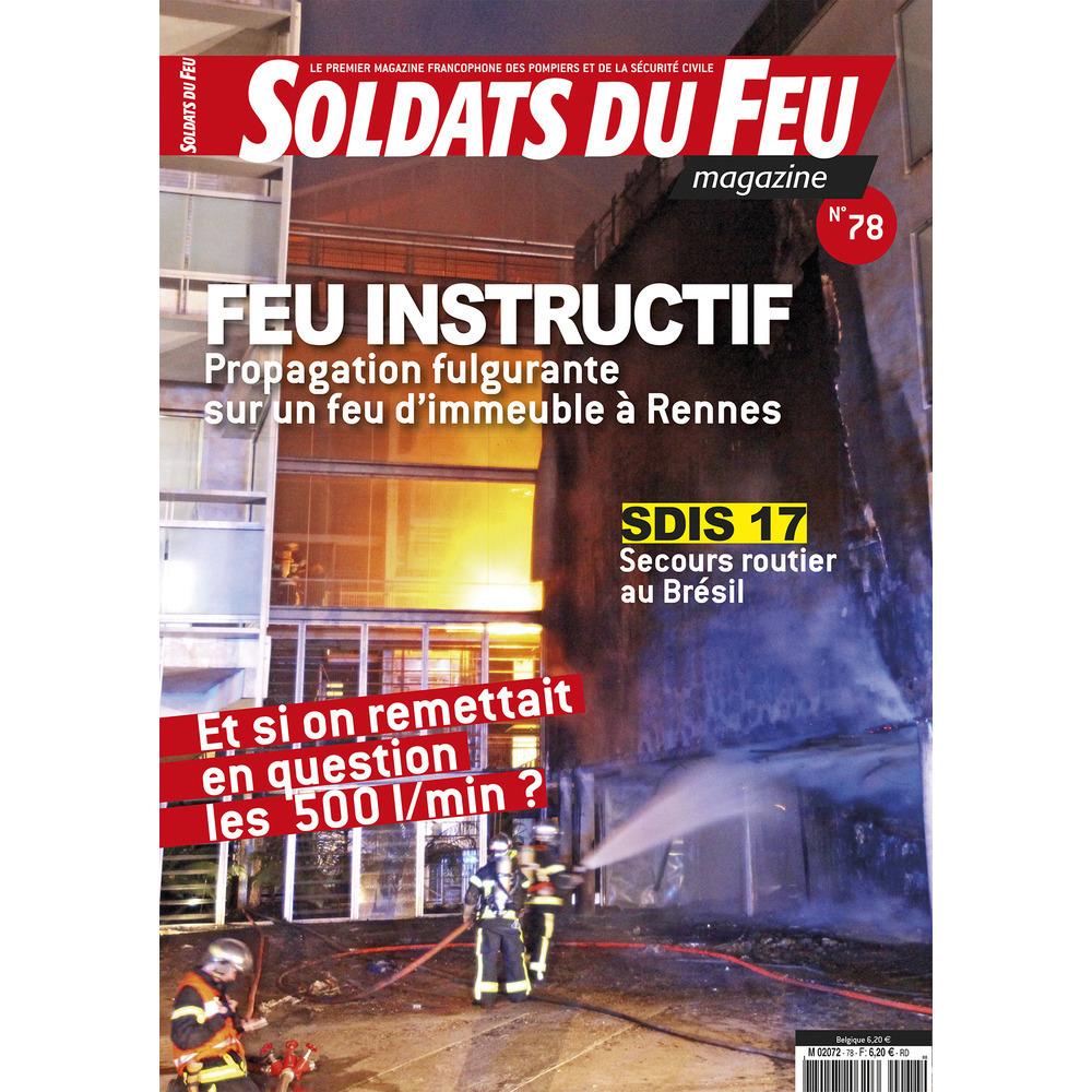 Soldats du Feu Magazine N°78