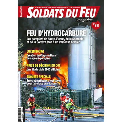 Soldats du Feu Magazine N°86