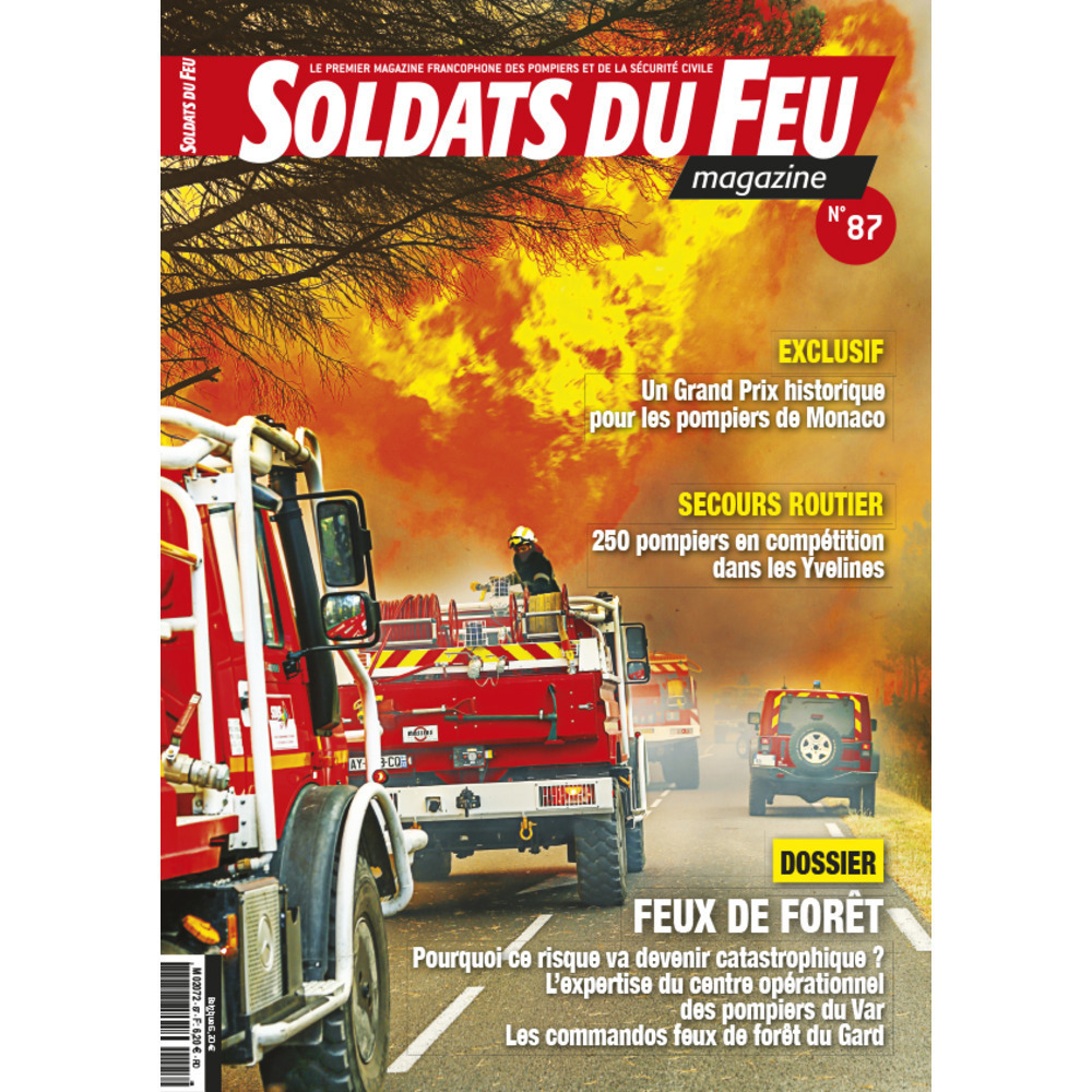 Soldats du Feu Magazine N°87