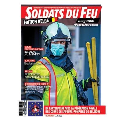 Soldats du Feu Magazine édition belge N°11