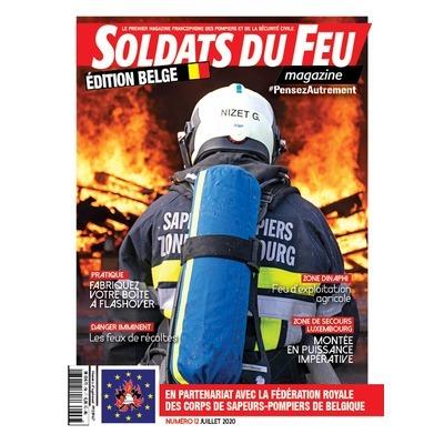 Soldats du Feu Magazine édition belge N°12