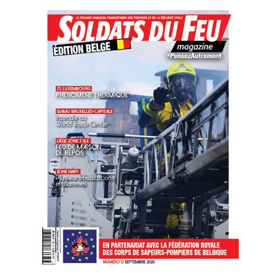 Soldats du Feu Magazine édition belge N°13