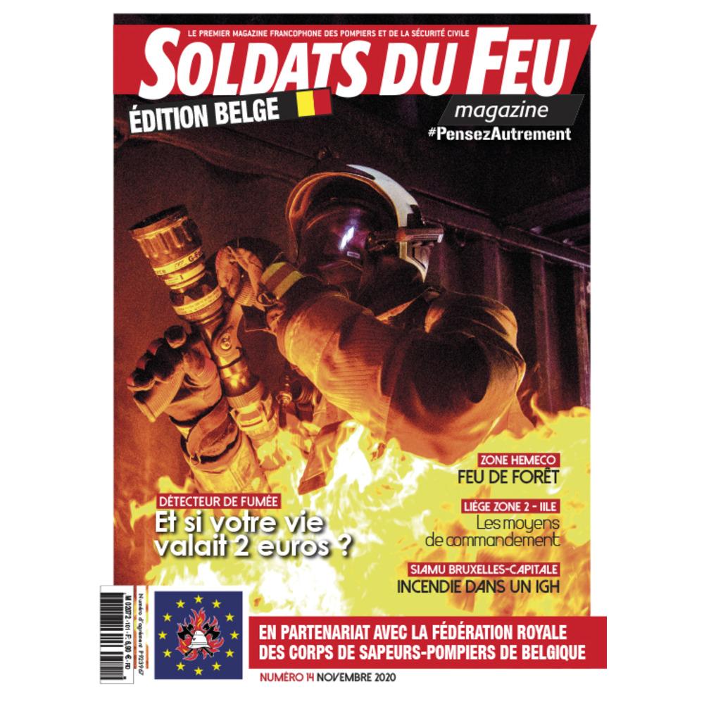 Soldats du Feu Magazine édition belge N°14