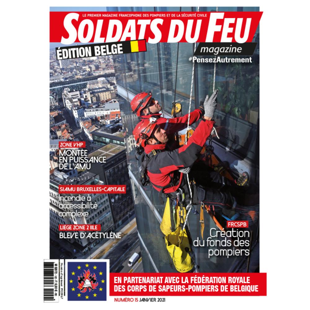 Soldats du Feu Magazine édition belge N°15