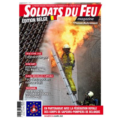 Soldats du Feu Magazine édition belge N°16