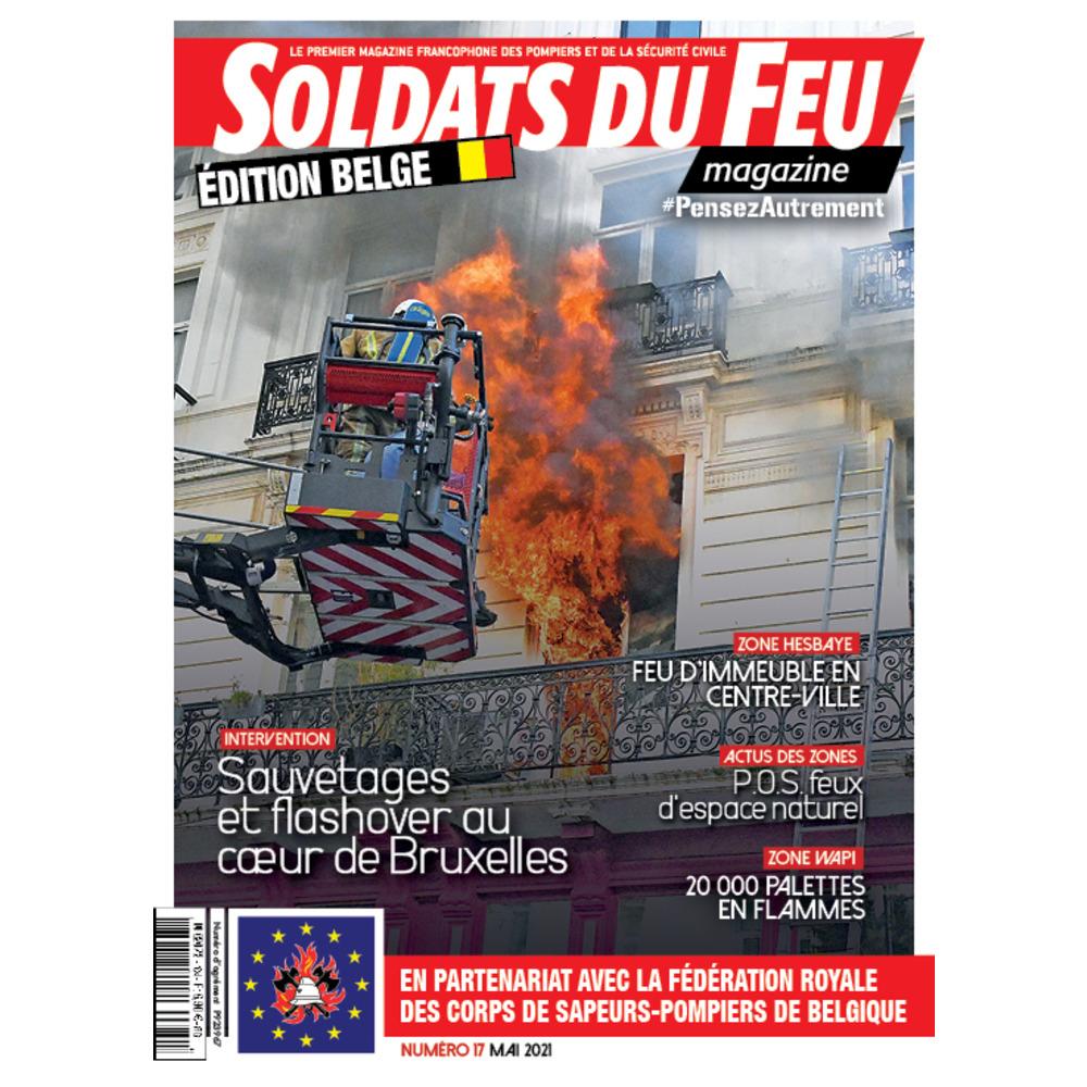 Soldats du Feu Magazine édition belge N°17