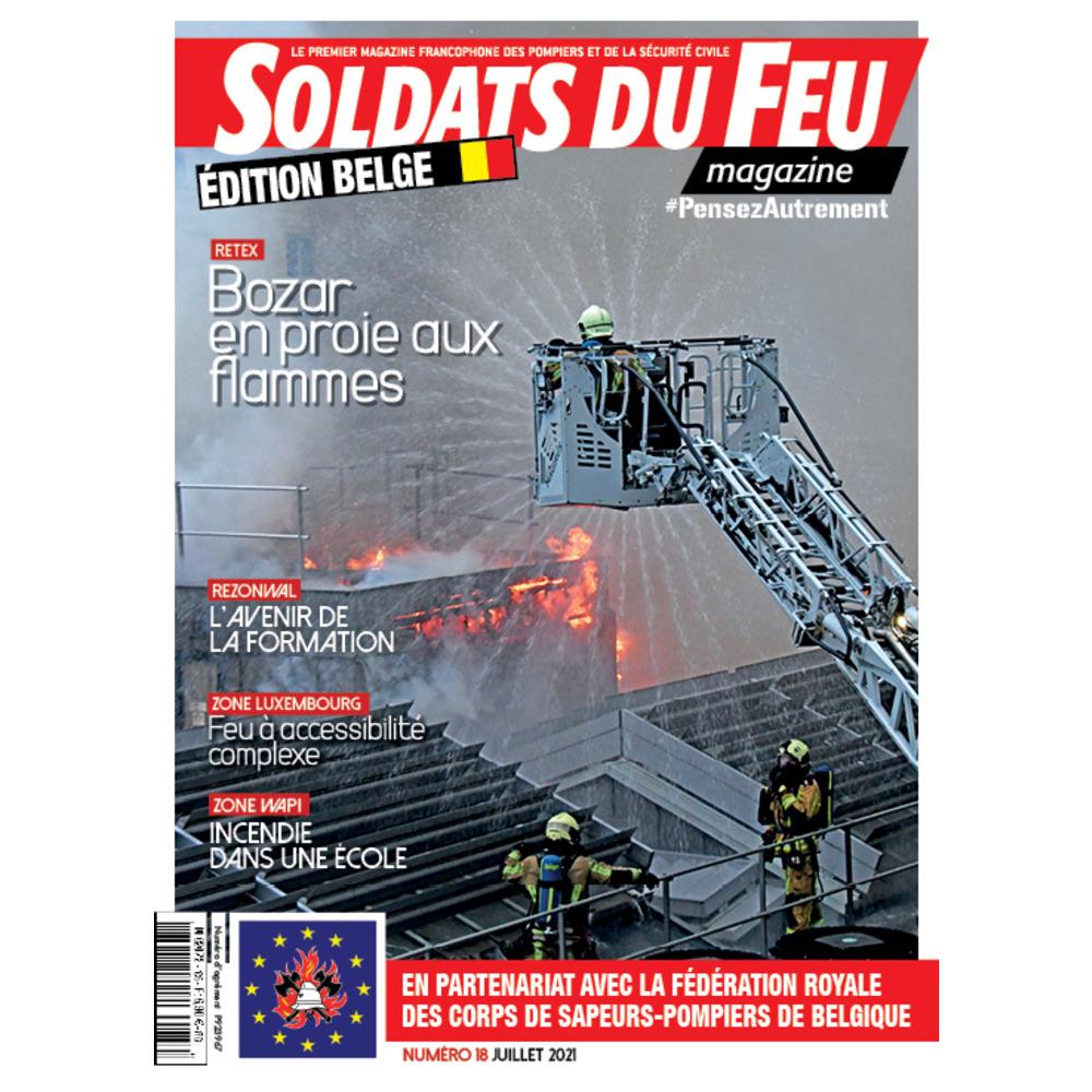 Soldats du Feu Magazine édition belge N°18