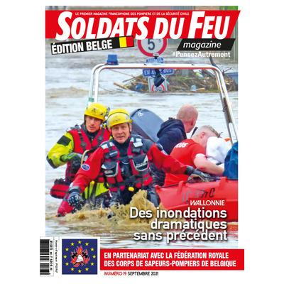 Soldats du Feu Magazine édition belge N°19