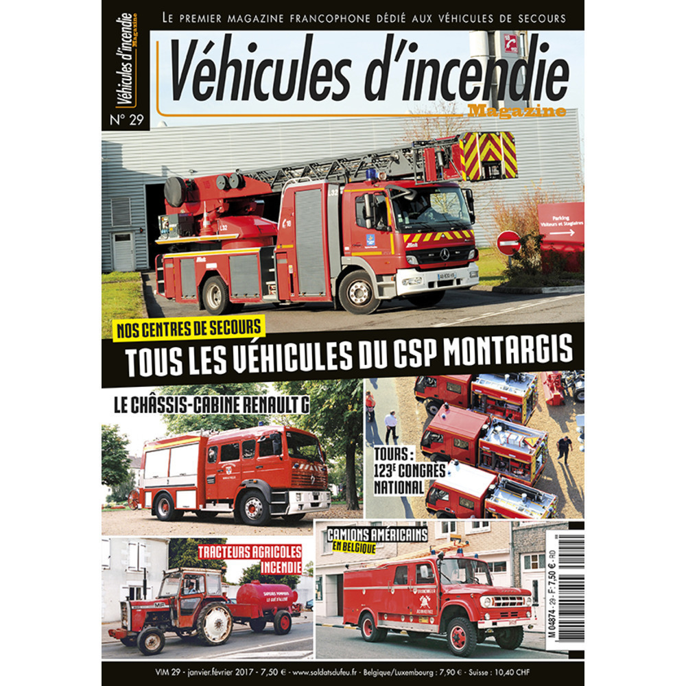 Véhicules d'incendie n°29