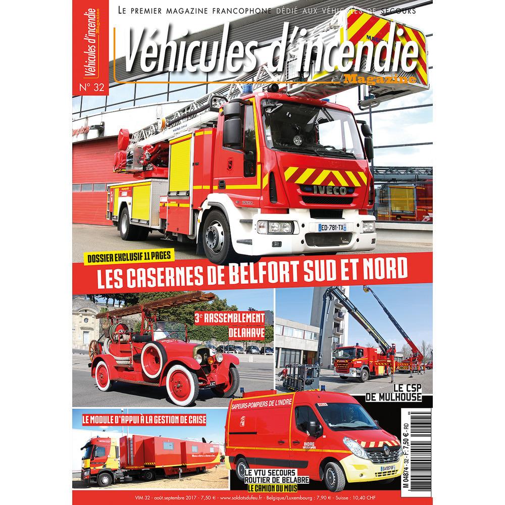 Véhicules d'incendie n°32