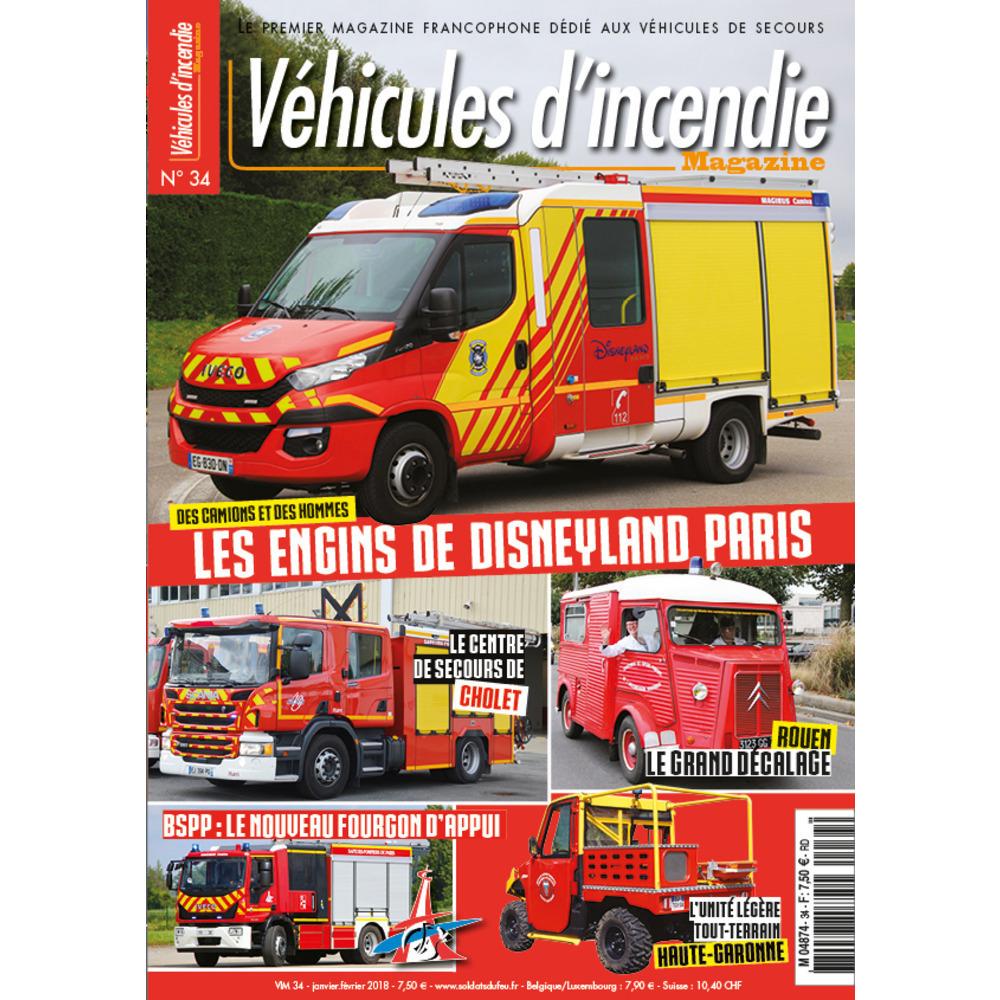 Véhicules d'incendie n°34