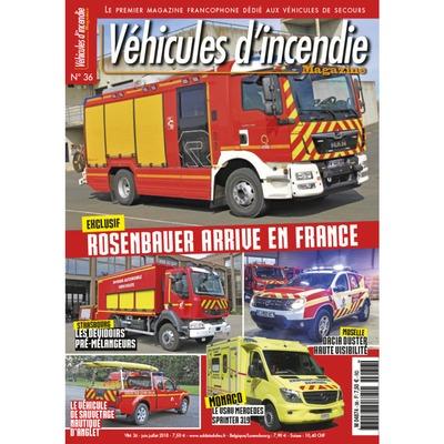 Véhicules d'incendie n°36