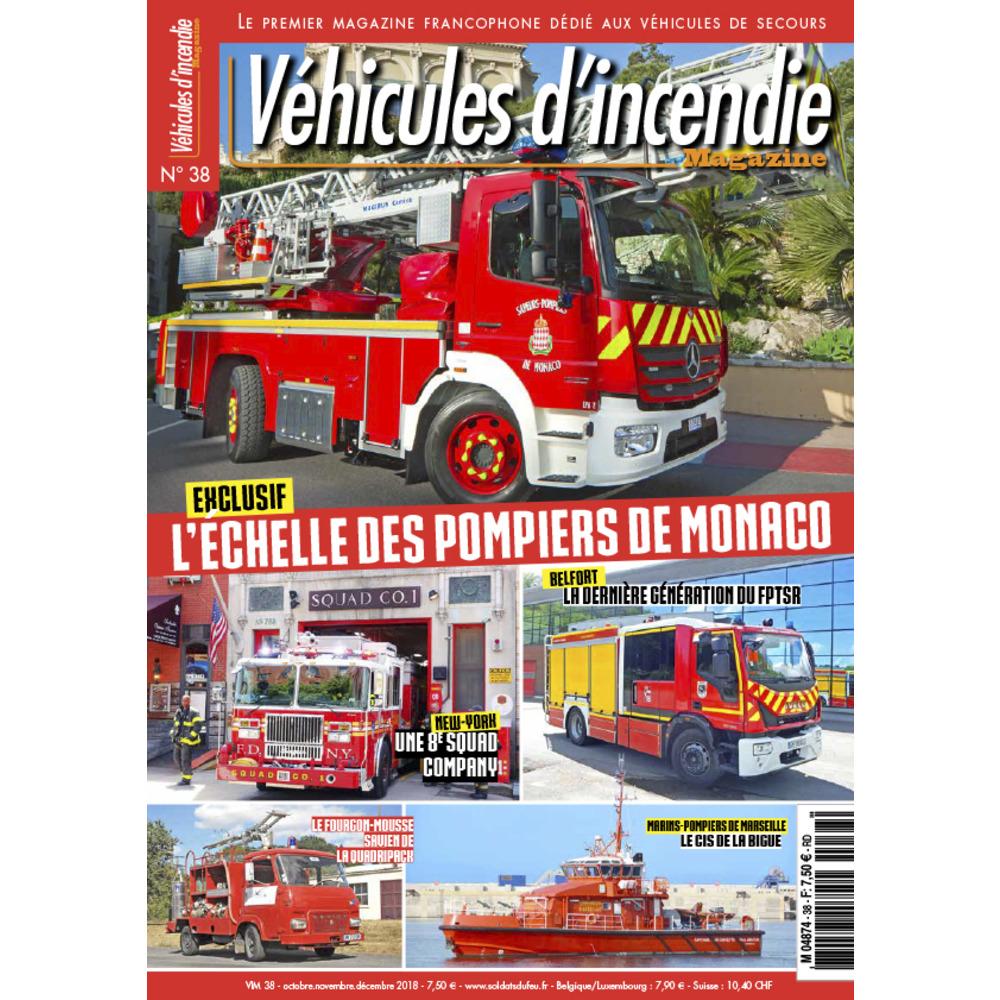 Véhicules d'incendie n°38