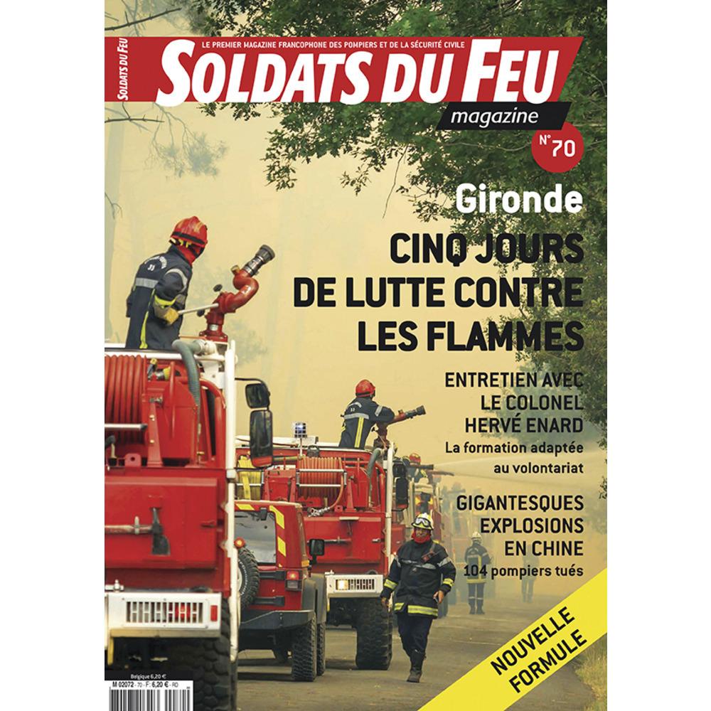 Soldats du Feu Magazine N°70