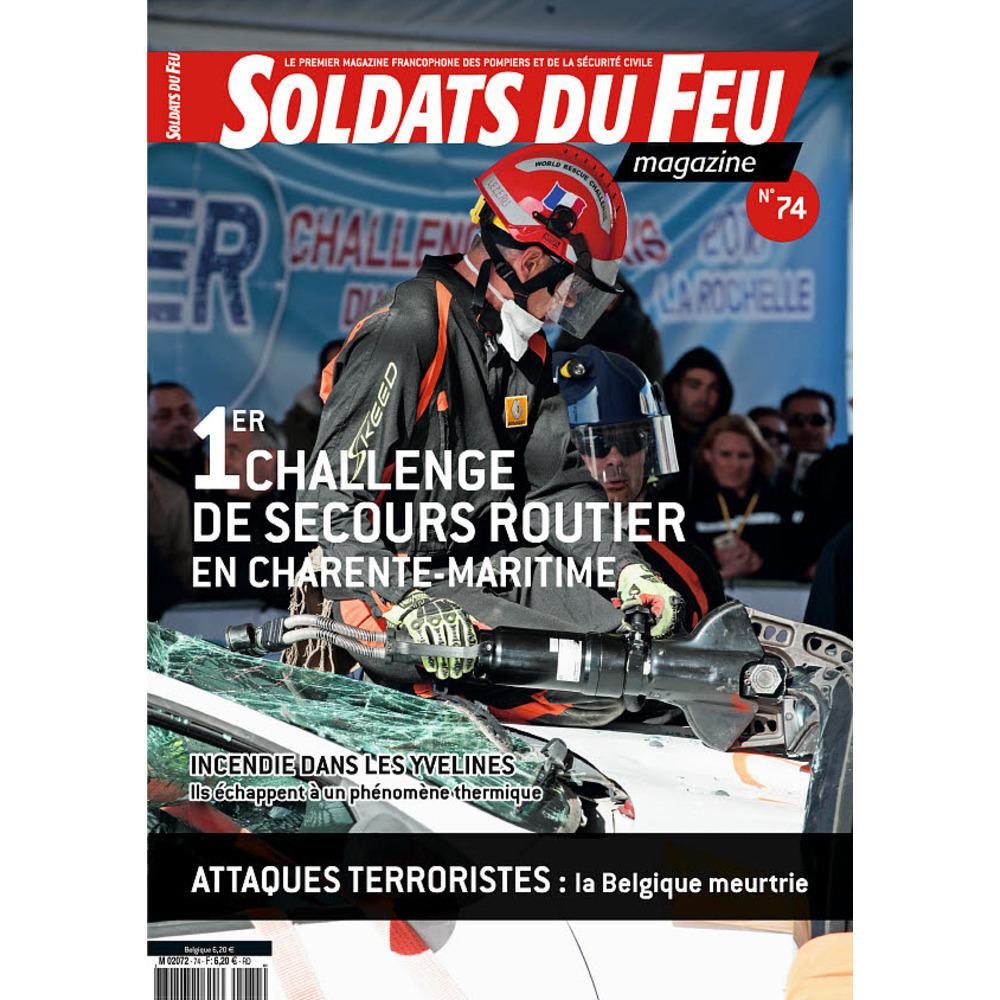 Soldats du Feu Magazine N°74